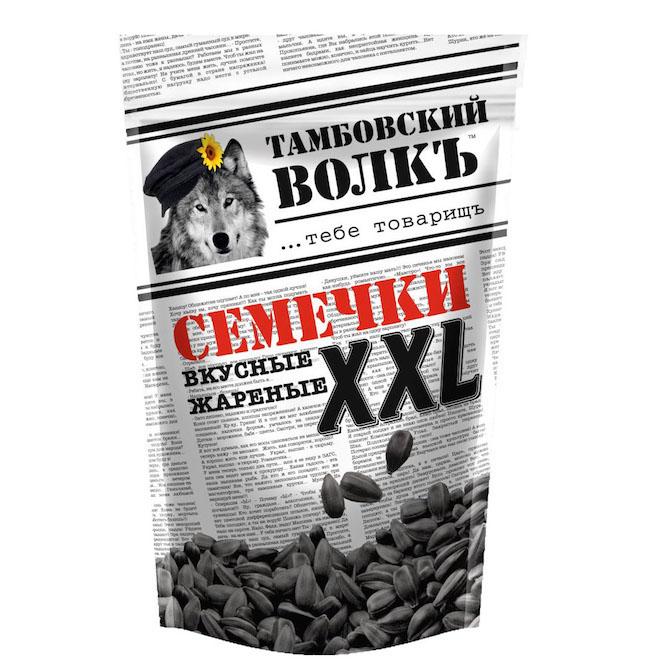 Семечки «Тамбовский волкъ» 400 г.