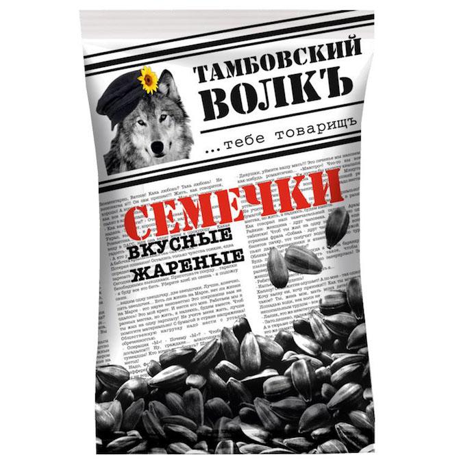 Семечки «Тамбовский волкъ» 90 г.